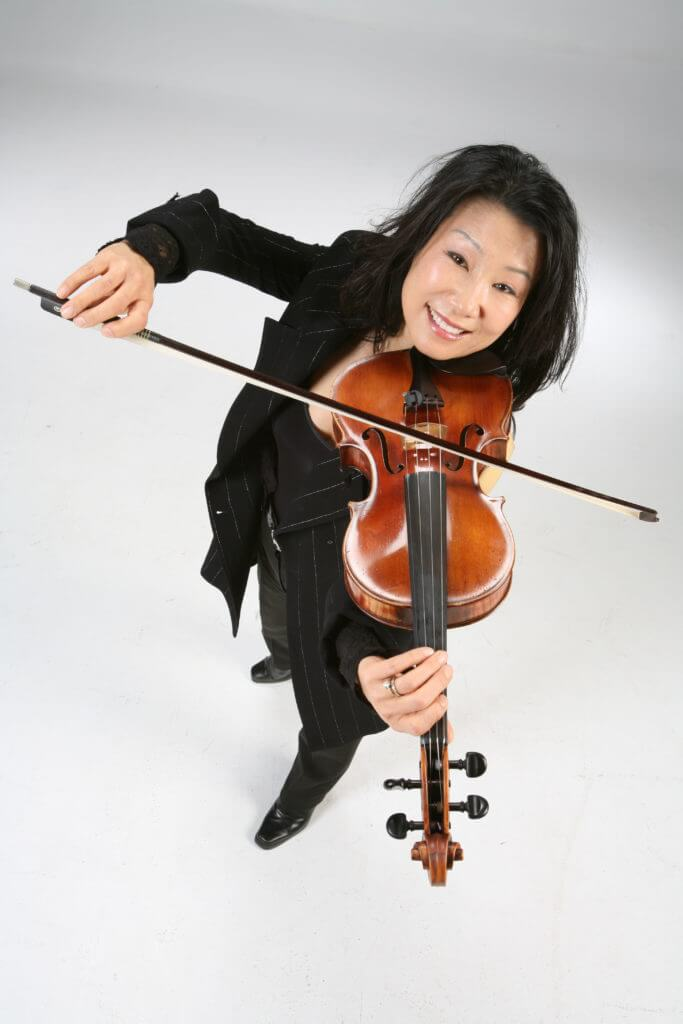 Eunsoon Corliss playing viola