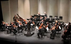 Knoxville Symphony Orchestra Playing on stage