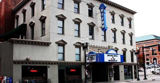Front facade of Bijou Theatre